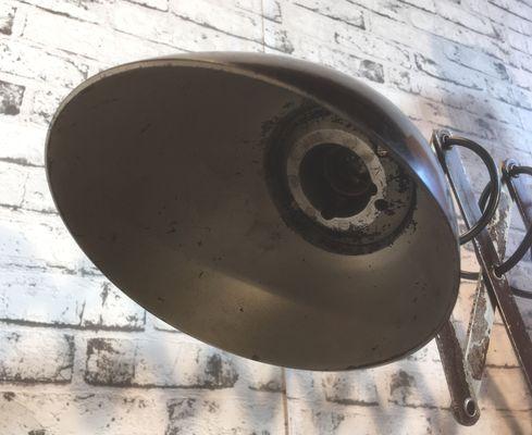 Applique da parete industriale a forbice anni 50 in vendita su pamono
