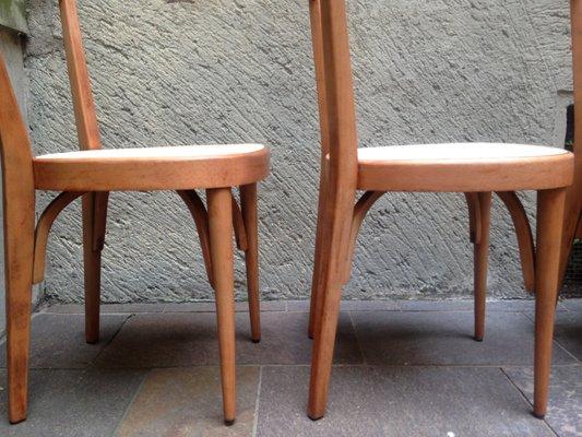 Sedie Vintage Anni 50 : Sedie vintage in legno anni set di in vendita su pamono