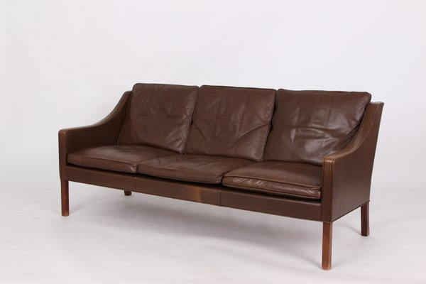 Vintage Sofa And Armchair By Borge Mogesen For Fredericia For Sale