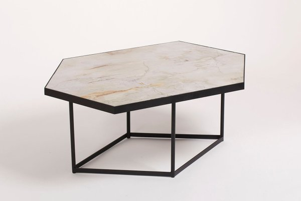 Pleasant Confluence Coffee Table By Gaspard Graulich In Natural Stone Steel Pabps2019 Chair Design Images Pabps2019Com