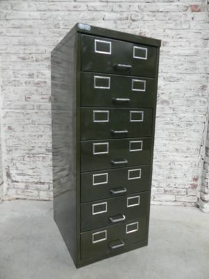French Steel Chest Of Drawers 1960s