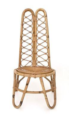 Mid Century Italian Wicker Chairs