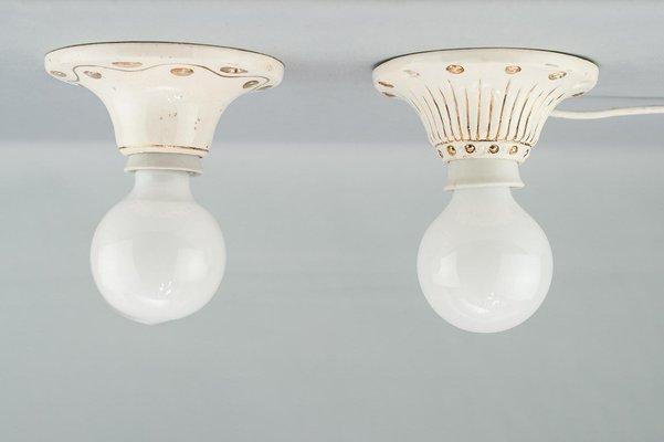Lampade da soffitto in ceramica vanni lampadari lampada da