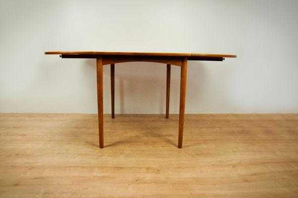 Table De Salle A Manger A Rallonge Vintage En Teck Danemark En