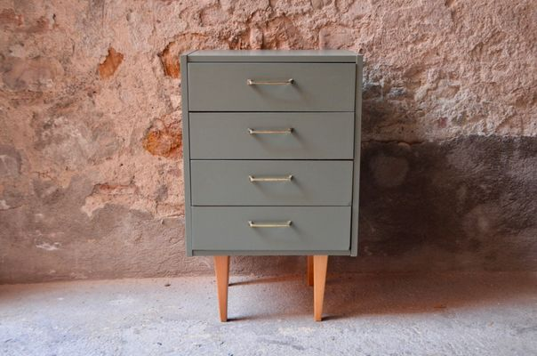 Small Mid Century Dresser For Sale At Pamono