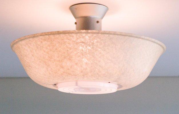 Lampade In Vetroresina : Lampada da soffitto vintage in vetroresina di louis kalff per