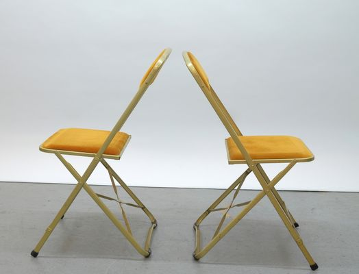 Surprising Vintage French Bistro Folding Chairs 1970S Set Of 6 Caraccident5 Cool Chair Designs And Ideas Caraccident5Info
