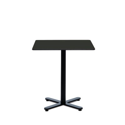 Square Black HPL Oxi Table by Mobles114