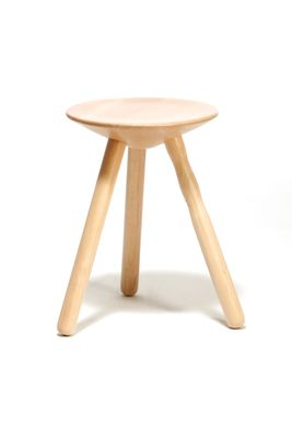 Peachy Small Beech Wood Luco Stool By Mobles114 Dailytribune Chair Design For Home Dailytribuneorg