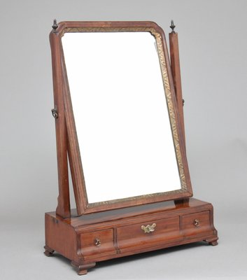 timeless design 60547 31ba3 19th-Century Mahogany Dressing Table Mirror