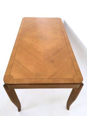 Tavolo da pranzo in ciliegio, anni \'50 in vendita su Pamono