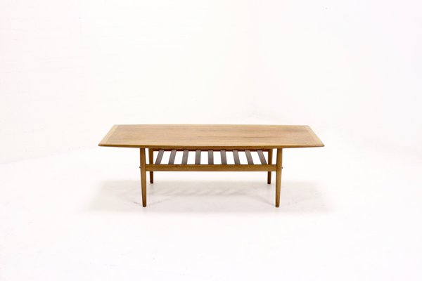 Mid Century Surfboard Coffee Table By Grete Jalk For Glostrup 1960s 1
