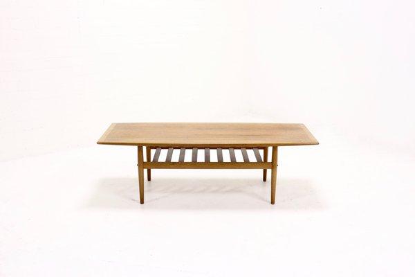 Table Basse Planche De Surf Mid Century Par Grete Jalk Pour Glostrup