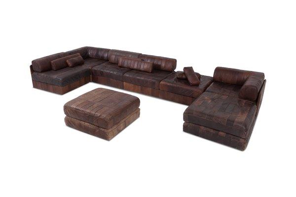 Ledersofa Cognac Farbe Baci Living Room