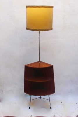 Mid Century Floor Lamp Corner Table 1960s 1