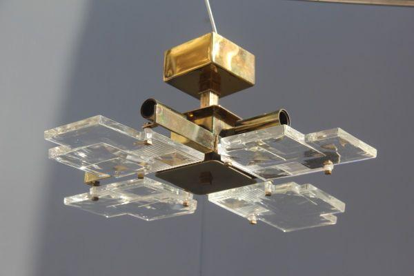 Plafoniere Da Forno : Lampadari da soffitto lampada led sospesa vetro cristallo plafoniera