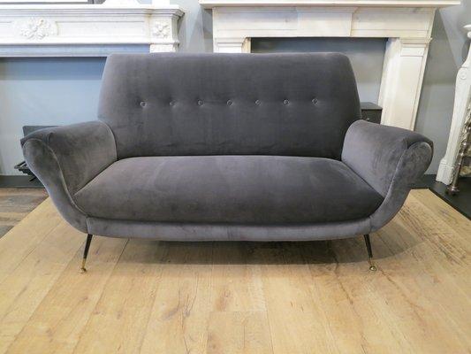 Mid-Century Italian Sofa by Gigi Radice for Minotti for sale at Pamono