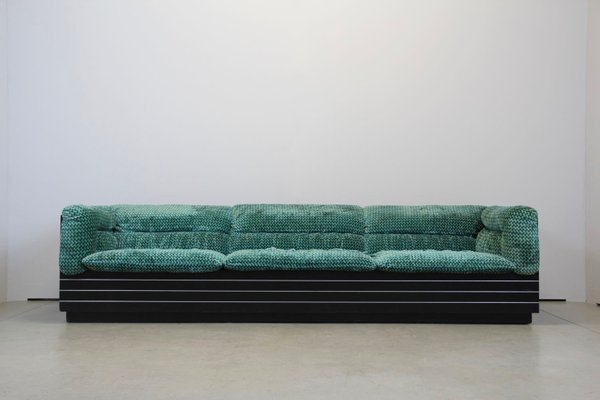 Vintage Italian 3 Seater Lounge Sofa By
