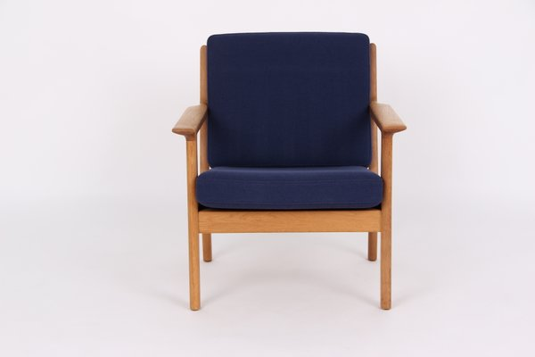 Vintage 3 Seater Sofa and Armchair by Hans J. Wegner for Getama for ...