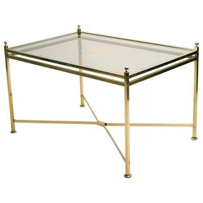 Ripiano In Vetro Per Tavolo.Tavolo Vintage Con Ripiano In Vetro Di Louis Vuitton In Vendita Su