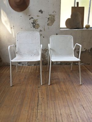 Sedie da giardino Mid-Century di Emu, anni \'60, set di 2 in vendita ...
