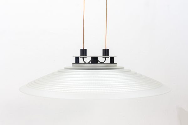 Suspension À 2 Peilamp; Putzler1978Set Grandes Lampes Halogène De c5R4jL3qA