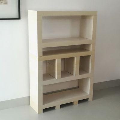 Libreria Moderna Urbino.Libreria Brick System Di D Urbino Lomazzi E De Pas Per Longato Anni 70