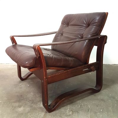 Sensational Vintage Danish Reclining Safari Chair 1960S Short Links Chair Design For Home Short Linksinfo
