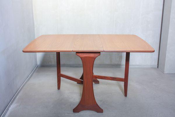 Table De Salle A Manger Pliante Vintage En Teck De G Plan 1960s