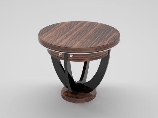 Tavolino Con Cassetti Legno.Tavolino Art Deco In Legno Macassar Con Cassetti Anni 20
