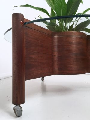 Bentwood Gl Coffee Table From Nathan 1960s