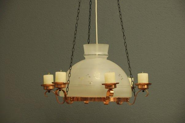 Lampadario vintage corda novita u pagina u laboratorio for Lampade svedesi