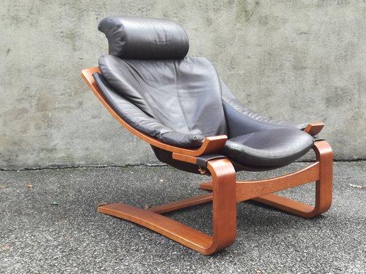 fauteuil kroken par Åke fribytter pour roche bobois, 1980s en vente
