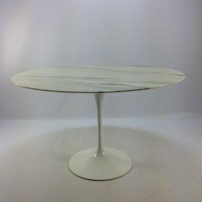 Vintage Marble Dining Table By Eero Saarinen For Knoll International 2