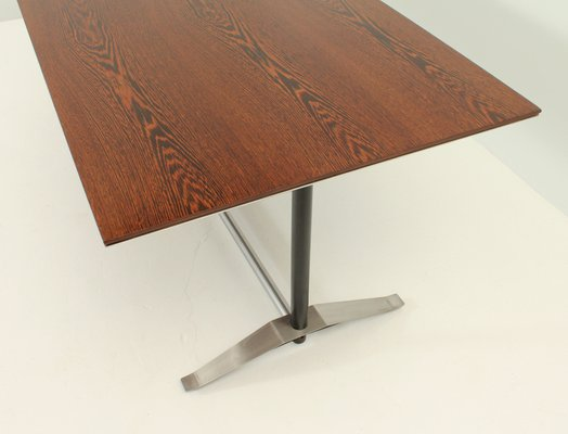 Wenge Wood Dining Table By Alberto Rosselli For Arflex 1960s