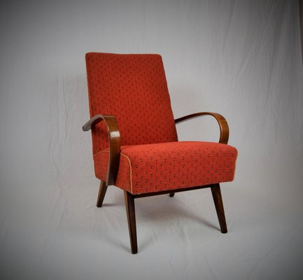 Astonishing Mid Century Modern Armchair From Ton 1960S Ocoug Best Dining Table And Chair Ideas Images Ocougorg