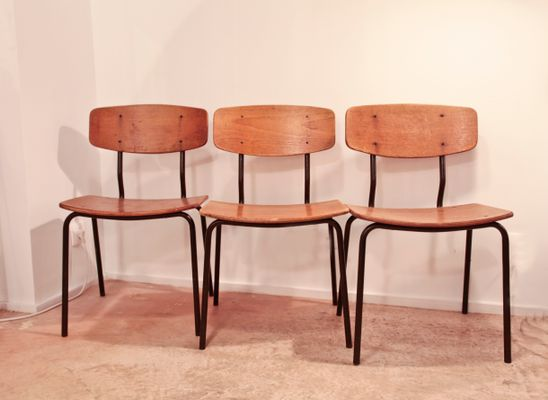 Vintage Danish Chairs 1960s Set Of 6 For Sale At Pamono