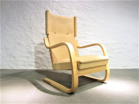 Phenomenal Model 401 Highback Lounge Chair By Alvar Aalto For Artek 1940S Pabps2019 Chair Design Images Pabps2019Com