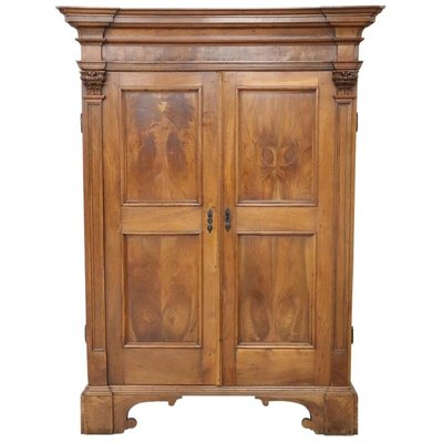 check out 8765a 9b5fd Large Antique Wardrobe in Solid Walnut, 1680s