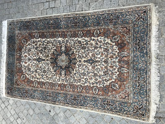 Vintage Indian Punjab Hand Knotted Rug For Sale At Pamono