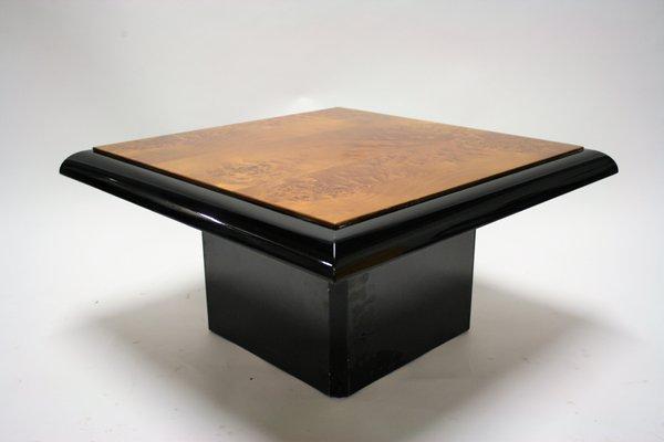 Burl Wood Coffee Table 1975 1