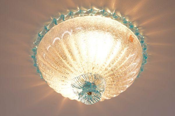 Applique in vetro di murano di barovier toso in vendita su pamono