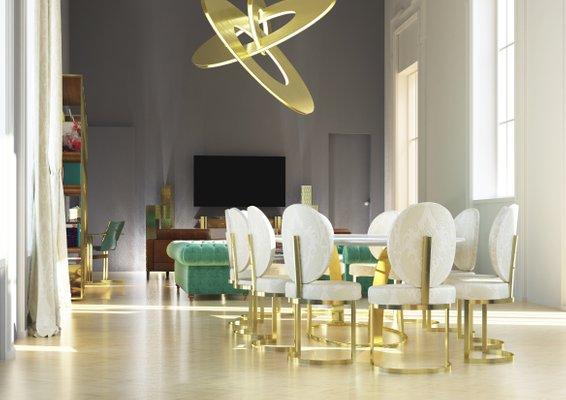 Tavolo da pranzo Ola di Zalaba Design