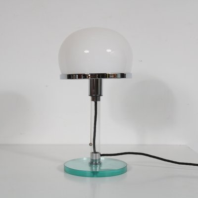 Bauhaus Table Lamp By Wilhelm Wagenfeld 1980s For Sale At Pamono