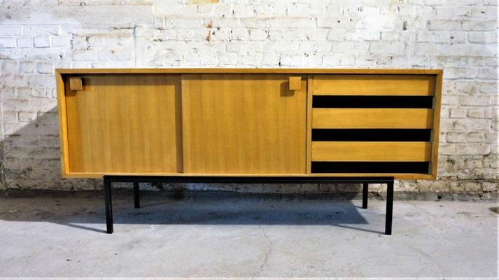 Franzosisches Vintage Sideboard Aus Holz 1950er Bei Pamono Kaufen