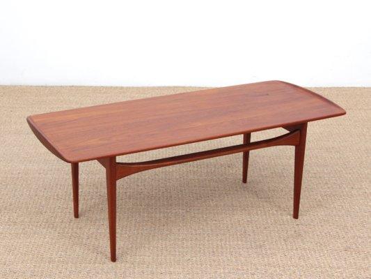 Table Basse Vintage Scandinave Par Tove Edvard Kindt Larsen Pour