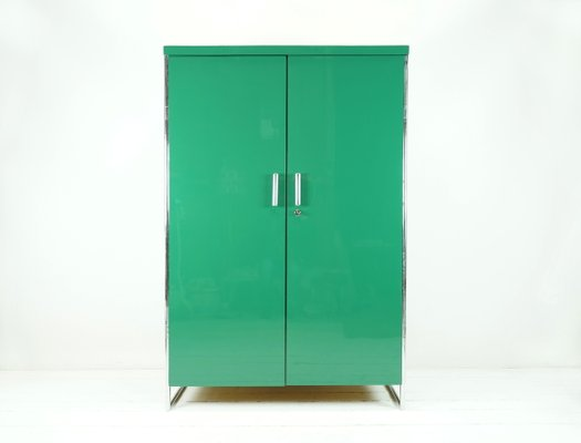 Armario Bauhaus Verde De Robert Slezak Anos 30