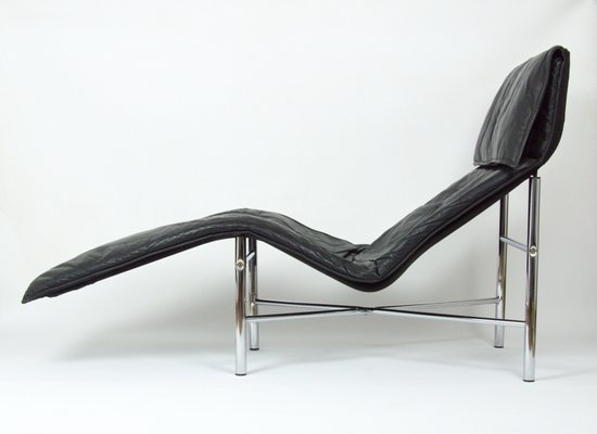 Remarkable Vintage Black Leather Lounge Chair By Tord Bjorklund For Ikea 1980S Pabps2019 Chair Design Images Pabps2019Com