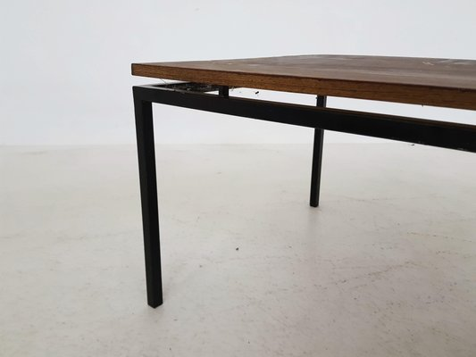 nouveaux styles 60a45 e7a3d Table Basse en Wengé et Métal, 1950s