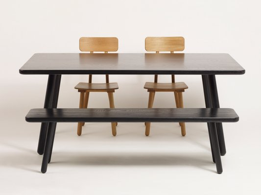 Astounding Small Black Ash Bench One By Another Country Dailytribune Chair Design For Home Dailytribuneorg